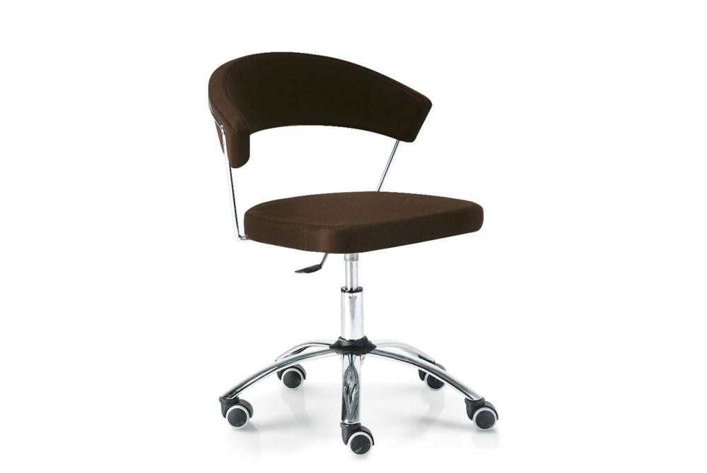 new york office brown  New York chairs  New York, dining chair, office chair, cantilver, white, black, brown, taupe, sled