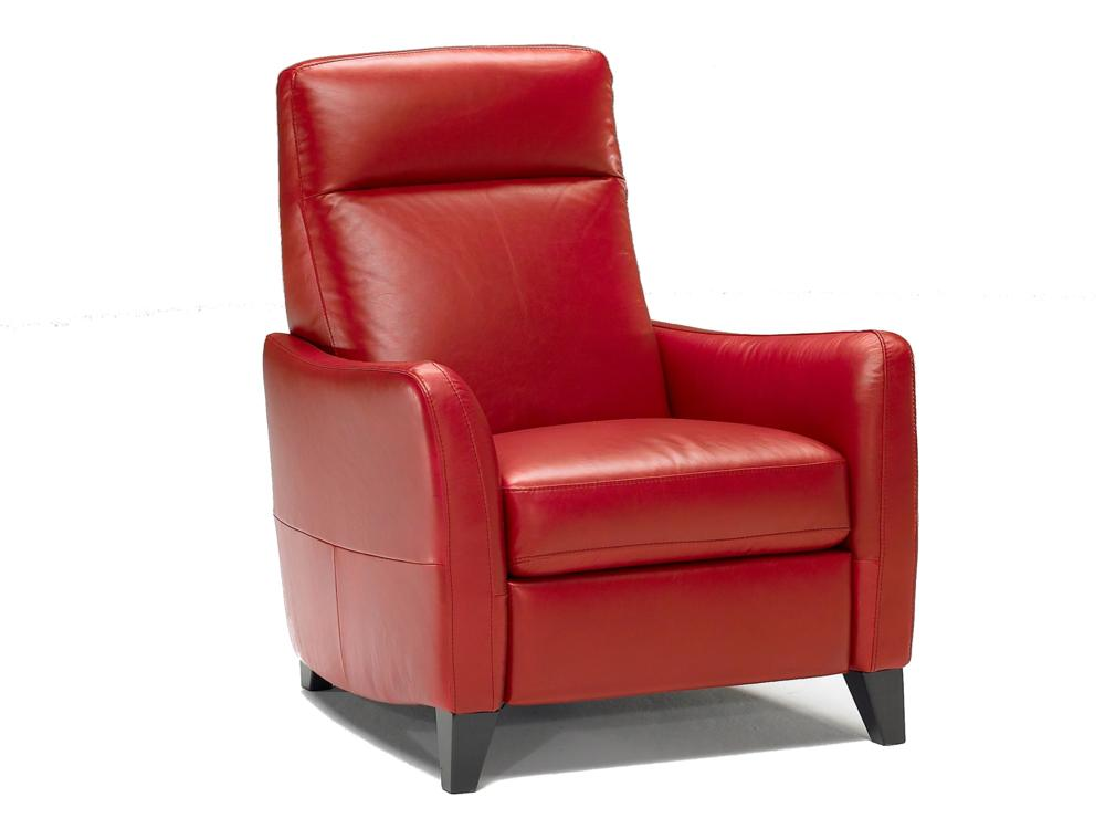 Armchairs furniture odessa leather recliner buy for Furniture armchairs