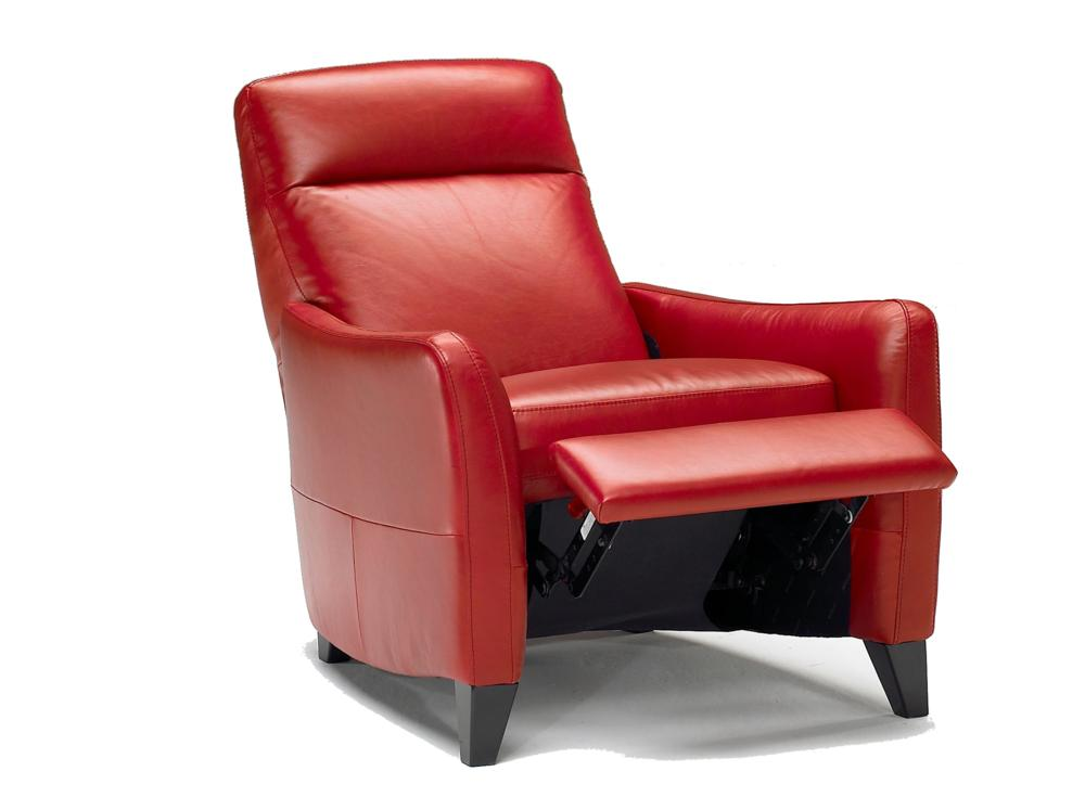 Odessa recliner in Red Leather 2550 open.jpg Odessa  sc 1 st  Voyager Interiors & Armchairs | Furniture | Odessa Leather Recliner. Buy Armchairs and ... islam-shia.org