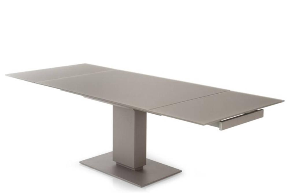 Echo Extension Table Black Open Calligaris Cantilever