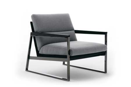 DAYTONA-Ditre-Italia-248943-rel246e196.jpg  Daytona Armchair - Taupe Fabric - Black Leather - Black Nickel Frame - Made in Italy - Ditre Italia - Square metal frame armchair - Contemporary design - Sleek design  DAYTONA-Ditre-Italia-248943-rel246e196.jpg Daytona Armchair - Taupe Fabric - Black Leather - Black Nickel Frame - Made in Italy - Ditre Italia - Square metal frame armchair - Contemporary design - Sleek design
