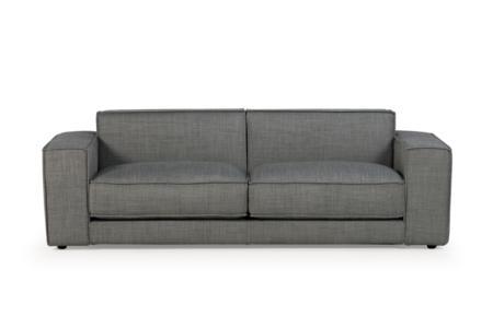 Bloc 3 Seater Sofa in Mambo Grey Tweed