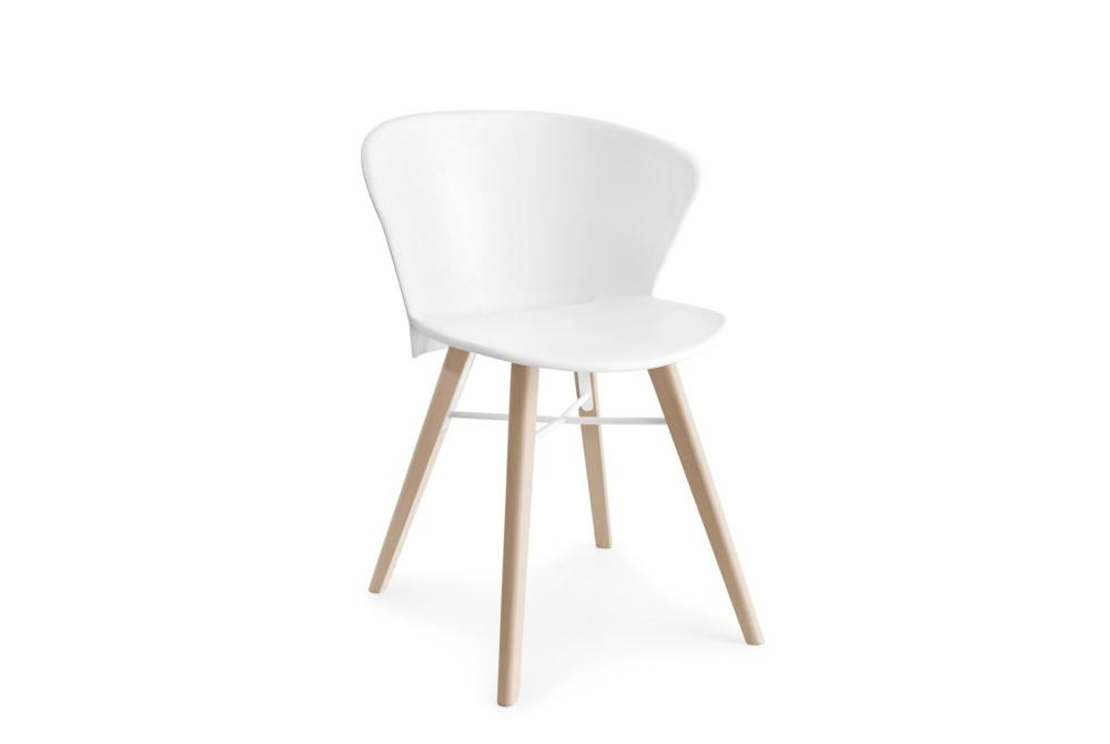 Bahia Chair - White with Natural Base