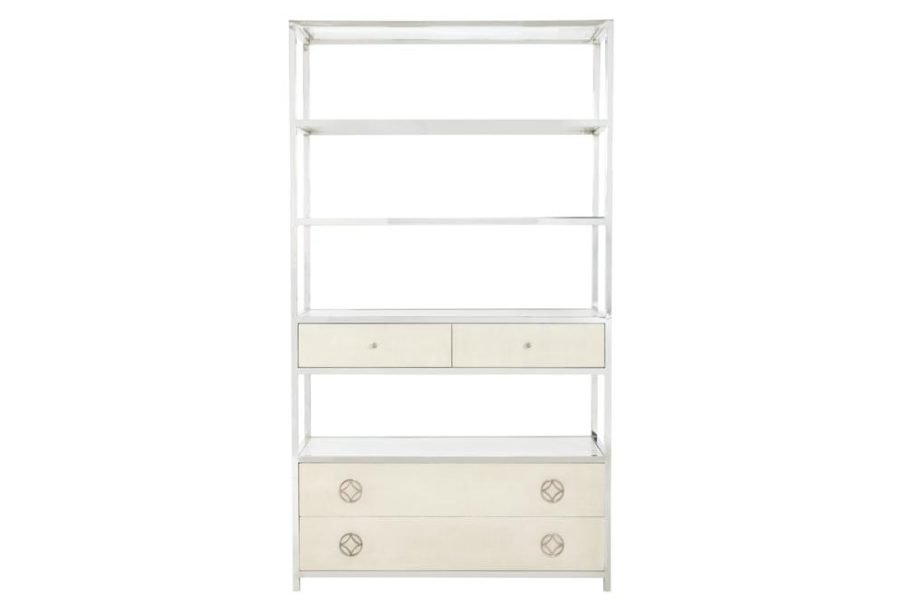 Criteria Metal Bookcase with Drawers