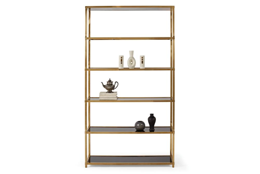 Benton Etagere Gold  Bernhardt New Product July 2016