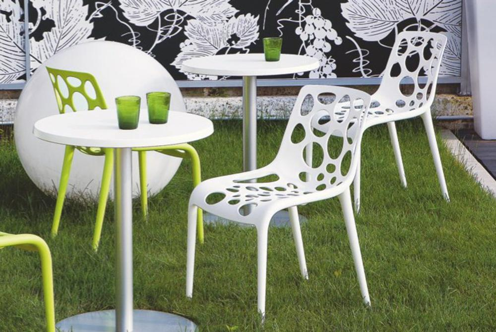Superior Calligaris Hero White Setting Calligaris Hero Chair Setting Shot White And  Green Pictures
