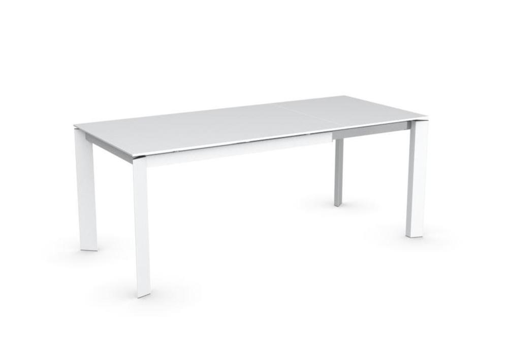 Baron Extension Table - Ceramic Top in White