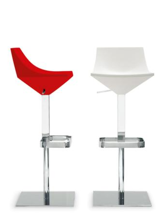Fly Gas Lift Stool Red