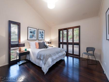 Main Bedroom. Styled by: Voyager Property Styling.