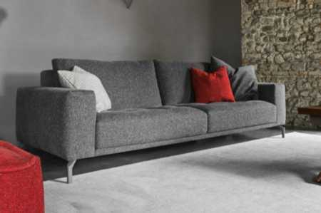 vegas5310.jpg  Vegas - Calligaris - Sofa fabric grey legs CS/3382 Textured fabric  vegas5310.jpg Vegas - Calligaris - Sofa fabric grey legs CS/3382 Textured fabric Enrico Cesana Italy Design European