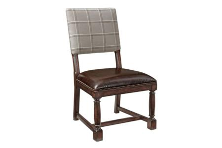 commonwealth dining chair front  bernhardt