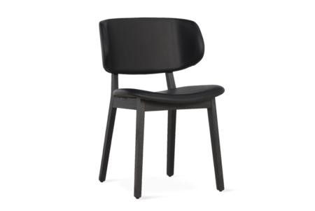 Claire Dining Chair Black Leather Graphite Frame  Claire Dining Chair SKUs Various