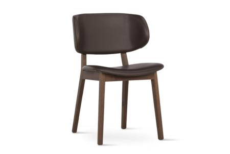 Claire Dining Chair Coffee Leather Smoke  Claire Dining Chair SKUs Various