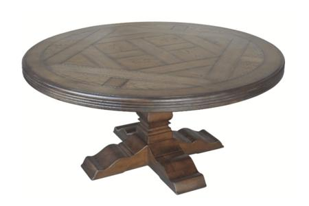 Circa Parquet de Versailles Round Table (1)  Parquet de Versailles Round Table Circa Collection  Round Dining Oak Russian European French PDV Parquetry de versailles