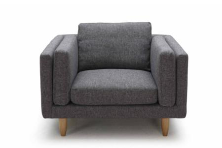 george armchair front  george chaise three seater sofa armchair