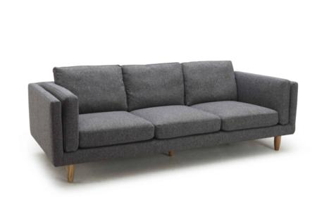 george three seater angle  george chaise three seater sofa armchair