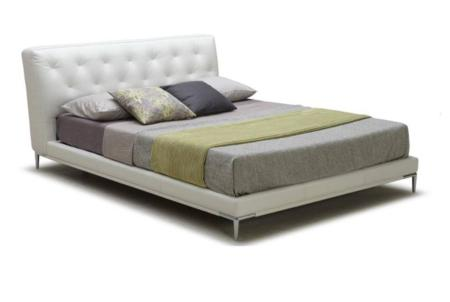 monica leather bed  monica leather bed