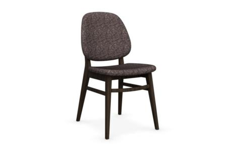 colette smoke tweed coffee  colette, park glass  colette chairs, park glass walnut white