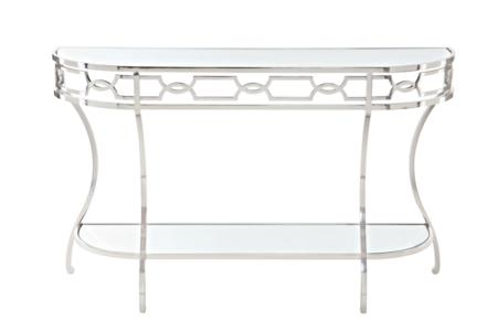 Criteria Metal Console Table  Bernhardt New Product July 2016